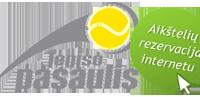 Teniso pasaulio puslapis - rezervacijos internetu ir savitarna